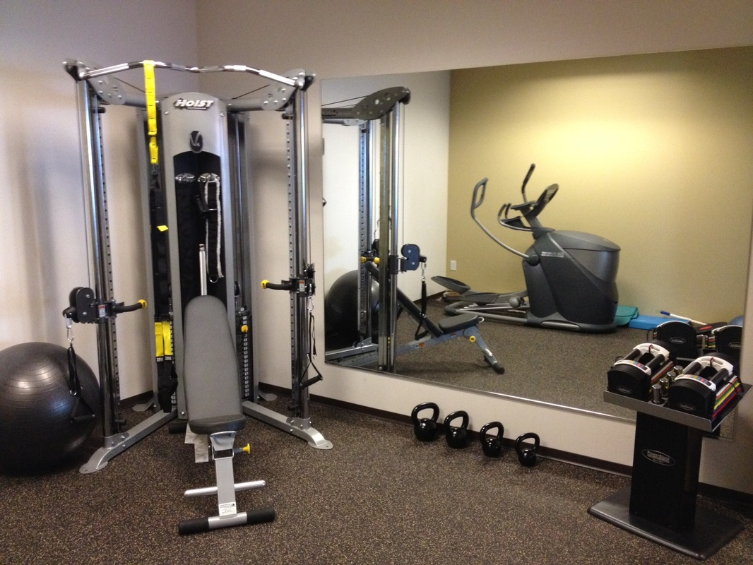At home or in office gym design denver co with solid